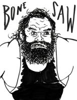 BONESAW IS READY by Bleu-Ninja