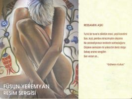 Invitation to the exhibition by fusunyeremyan