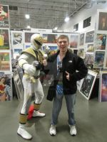 Me and the White Ranger by CelmationPrince