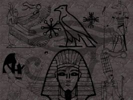 Egyptian Marks-Gimp version by UnendingDreamer