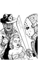 Freddy vs Jason by MARR-PHEOS