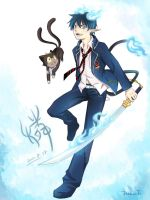 Blue Exorcist by dreamfield92