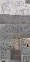 Sketch Collection 2012 by ShadowOfTheMeadow