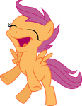 scootaloo flying by shaynelleLPS