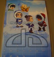 ATLA - December mini-calendar by Neurosylum