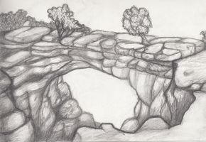 Landscape Sketch 5 by Whimsy-Floof