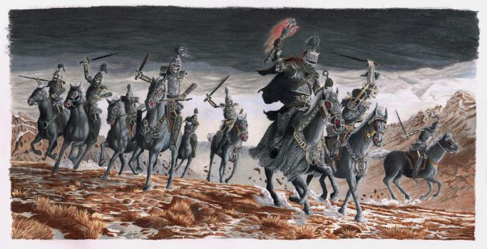 Lord Soths Charge - Original by Keith Parkinson by Supergeo1