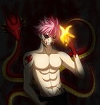 Natsu Ghoul by X-Ray99