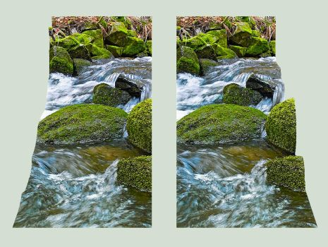 The brooks Cross Eye Stereo 3D by zour