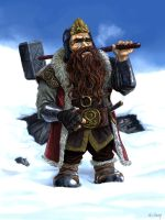 The Dwarf King by coreymccarty
