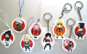 key chains n phone straps by mzsora