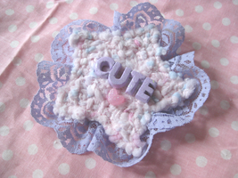 Cute Lacy Star Two-Way Clip by Cupcake-Kitty-chan