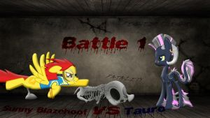 Pony Kombat New Blood 3 Round 4, Battle 1 by Macgrubor