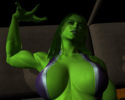 She hulk - Exclusive 30 by MorganCygnus