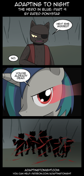 AtN: The Hero In Blue -  Part 9 by Rated-R-PonyStar