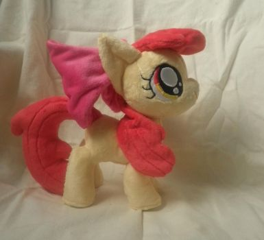 Moggymawee's Apple Bloom by Stitchkitti