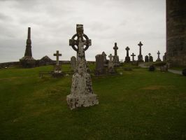 Celtic Graveyard by Malise-Skyla