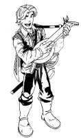 Walking in Circles presents Garand: The Bard by wonderfully-twisted