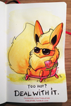 160720 Flareon Says Deal With It by fablefire