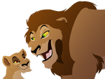 Amar and Zira by lionobsession