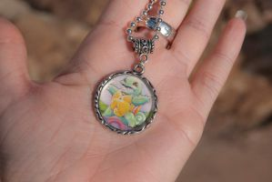 Squirtle Pokemon Card Necklace by IvrinielsArtNCosplay