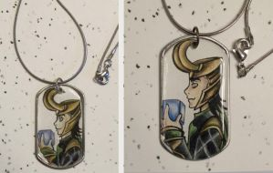 Loki Necklace by Sugar-Bolt