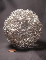 Truncated Icosahedron by BorosilicateArachnid