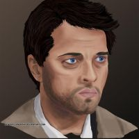 Castiel by Kendra-candraw
