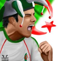 Algeria .. We're All with you by Joouheika