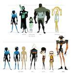 Blue Beetle Animated Villain Sheet Two by dou-hong