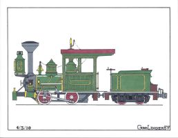 BTMt. 0-4-0 Green Scheme by gunslinger87