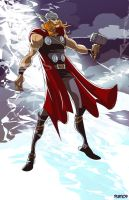 The Mighty Thor by NunoPlati