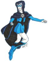 Blue Lantern- Kar'n by CrazyJetty