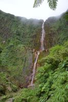 Guadeloupe waterfall Carbet for Margarete birthday by A1Z2E3R