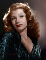 Rita Hayworth by klimbims