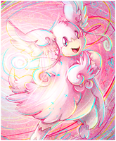 mega audino by Peegeray