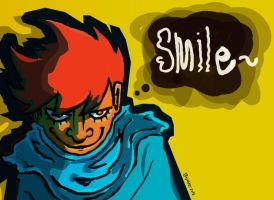 014. Smile by 1weirdsoul1