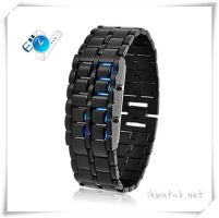 New fashion Lava iron samurai led watch by ailsalu