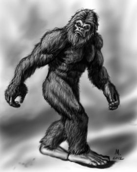 Bigfoot by Octave13