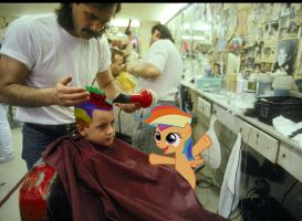 Awesome Haircut - Scootaloo by normanb88
