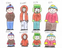 SP- Middle Schoolers Concept by BlueMew919