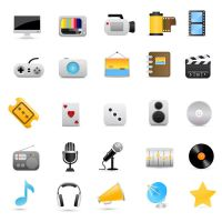 Movie icons set by FreeIconsFinder
