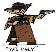 'The Ugly'- Colored by WhoDrewThis