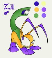ZP: Zill ref sheet by VivzMind