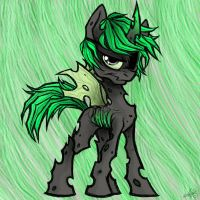 a changeling by SuperCrazyHyena