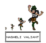 Nasheli Valiant - Pixel edit by KuraiTenshi89