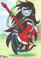 Art Card 13 - Marceline by VickyViolet