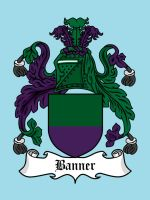 Super Clan Coat of Arms: Banner by mattcantdraw