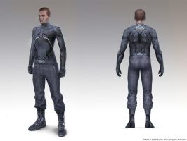 Halo 4 Spartan Ops / undersuit by maykrender