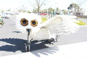 Beast your Bike: Owl by JoyfulJ